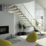 Como aplicar o Feng Shui na configuração de escadas